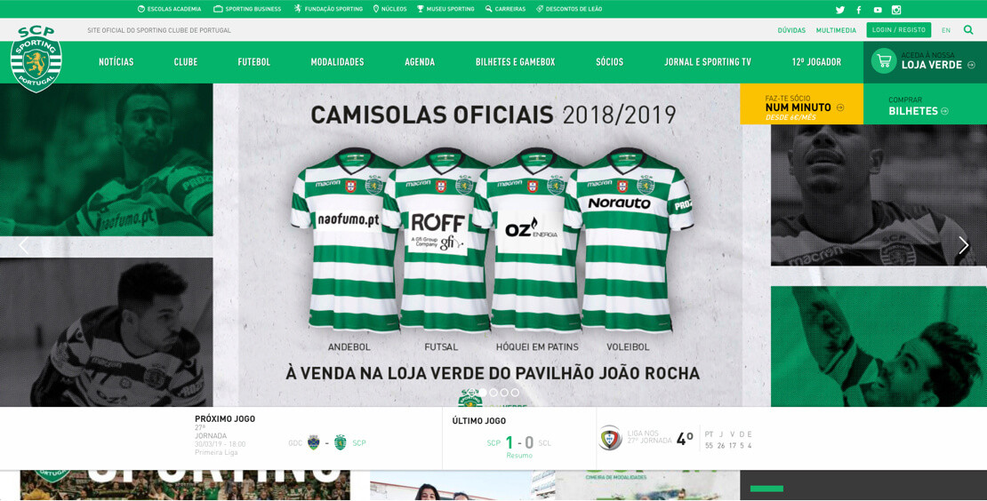 sporting-website